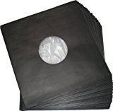 LP Innenhüllen schwarz Deluxe (100 Stück)