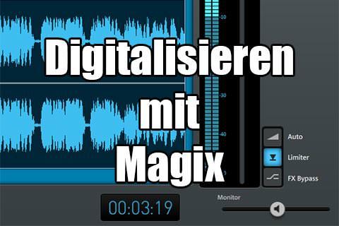 Schallplatten digitalisieren mit Magix Cleaning Lab