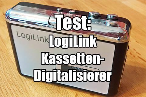 LogiLink Kassetten-Digitalisierer im Test
