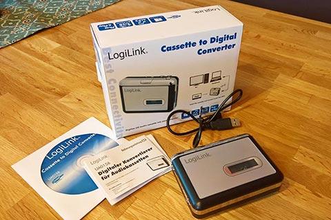 Test Logilink Kassetten Digitalisierer