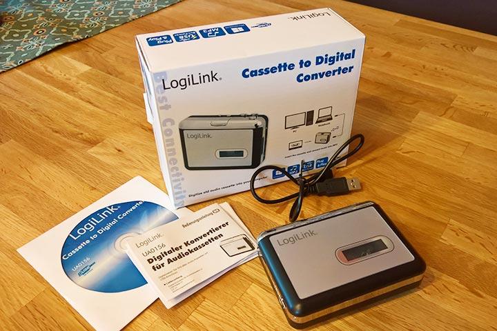 Ausgepackt: Logilink Kassetten Digitalisierer