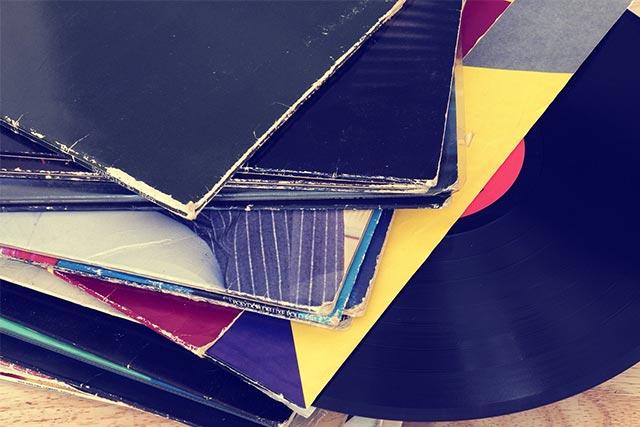 Zustand der Schallplatten bewerten
