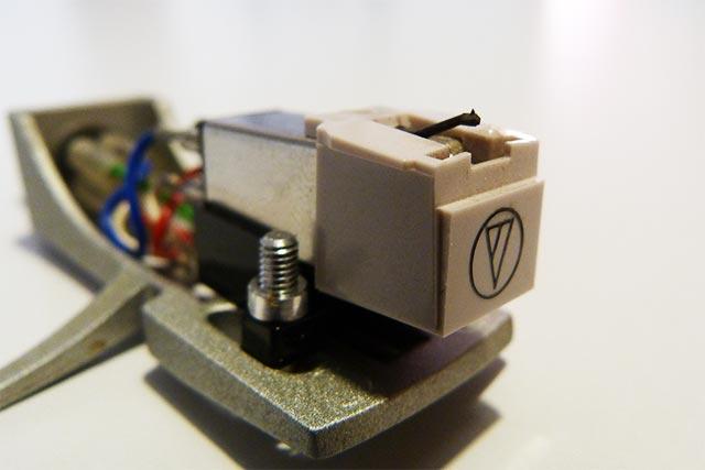 Nadelträger für die Schallplattennadel